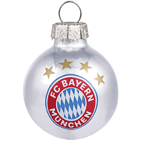 Fc Bayern Tannenbaum.Fc Bayern München Christbaumkugeln Mini 10er Set