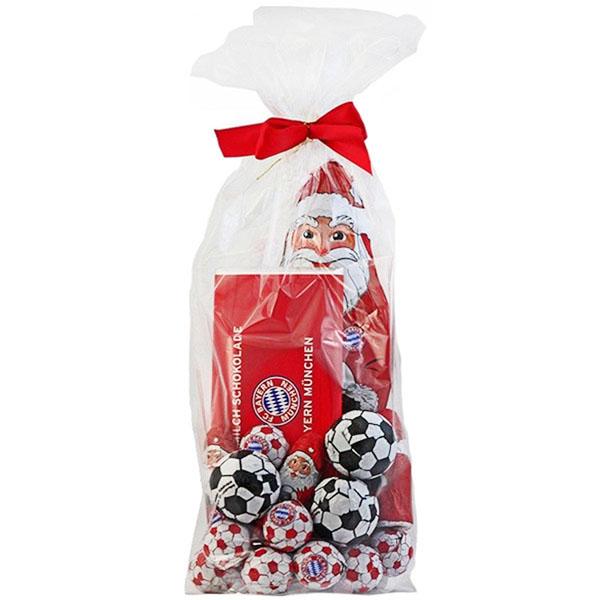 FC Bayern München Weihnachtsmann Schokoladen Mix