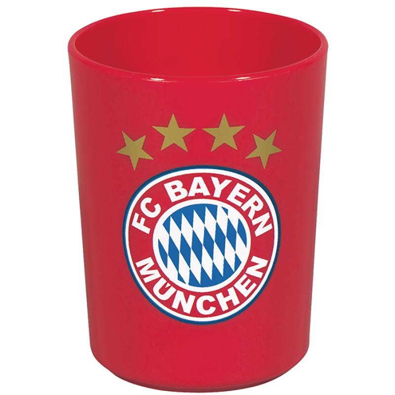 FC Bayern München Zahnputzbecher Logo