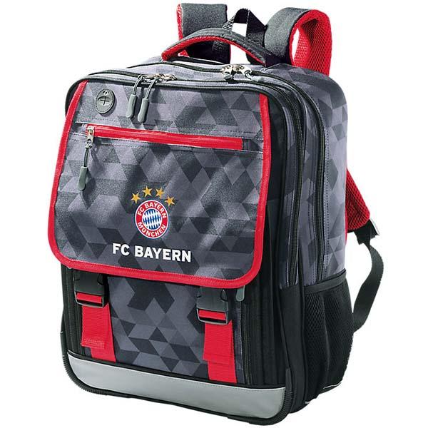 FC Bayern München Schulrucksack Classic anthrazit