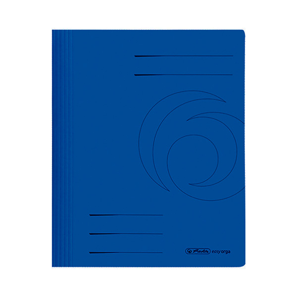 Herlitz Schnellhefter DIN A4 Karton blau