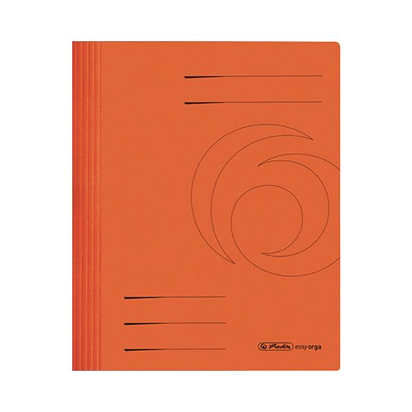Herlitz Schnellhefter DIN A4 Karton orange