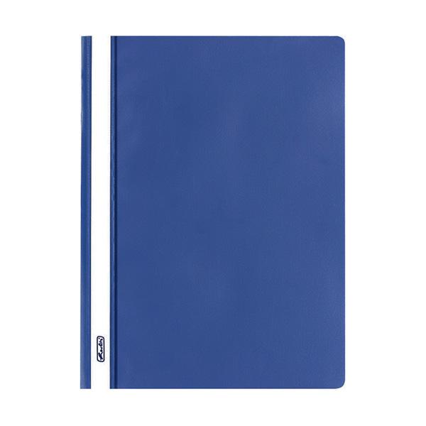 Herlitz Schnellhefter DIN A4 PP blau