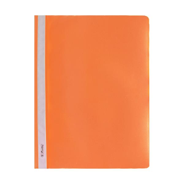 Herlitz Schnellhefter DIN A4 PP orange