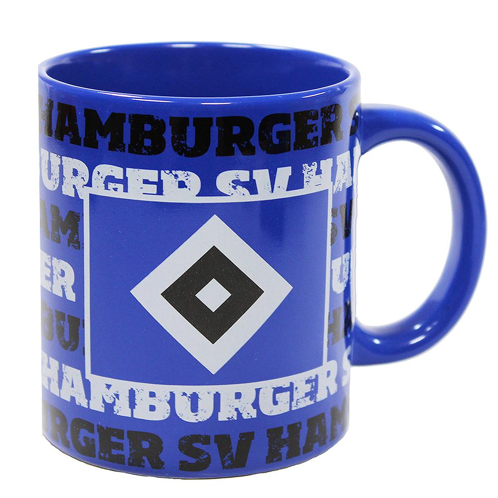 HSV Tasse Hamburger SV Schriftzüge