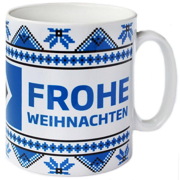 Frohe Weihnachten Hsv.Hsv Hamburger Sv Kaffeebecher Becher Tasse Weihnachten