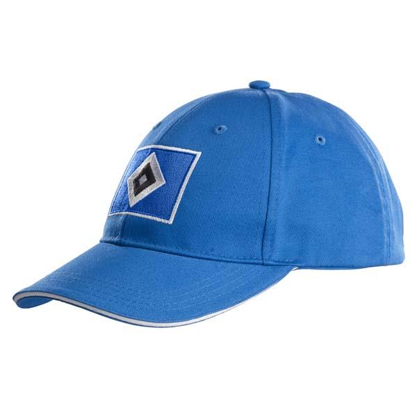 HSV Cap Raute blau