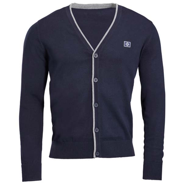 HSV Strickjacke Cardigan blau