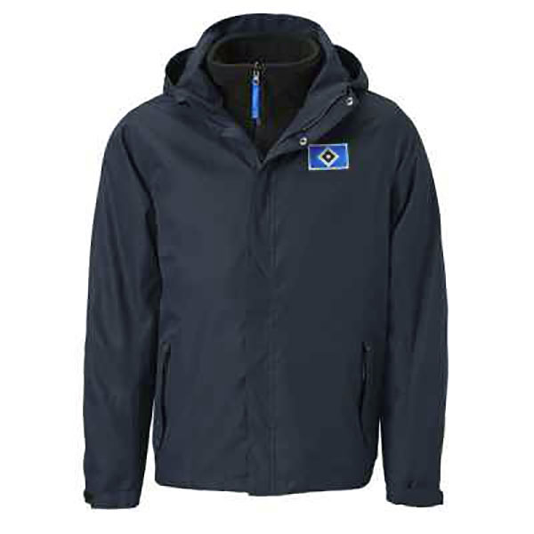 HSV Winterjacke 2in1 navy