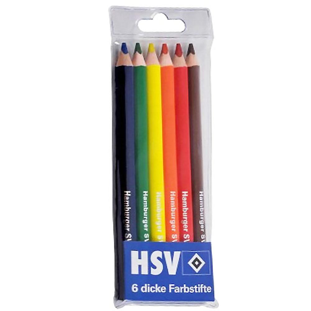 HSV Farbstifte 6er-Set