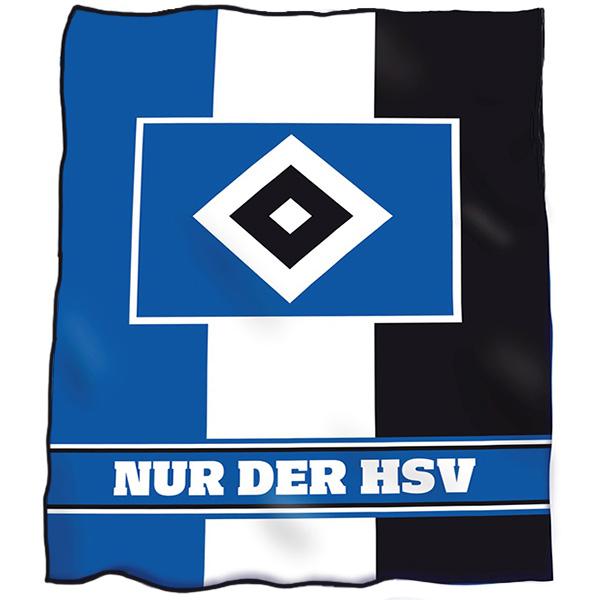 HSV Fleecedecke Nur der HSV