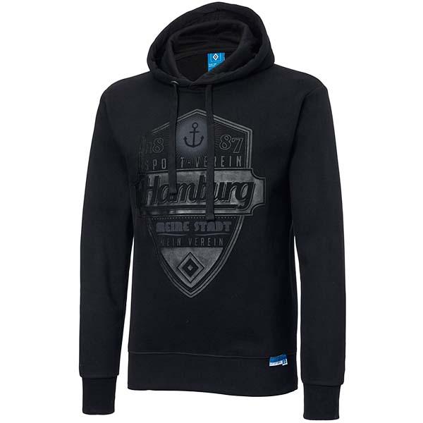 HSV Hoody Hamburg schwarz