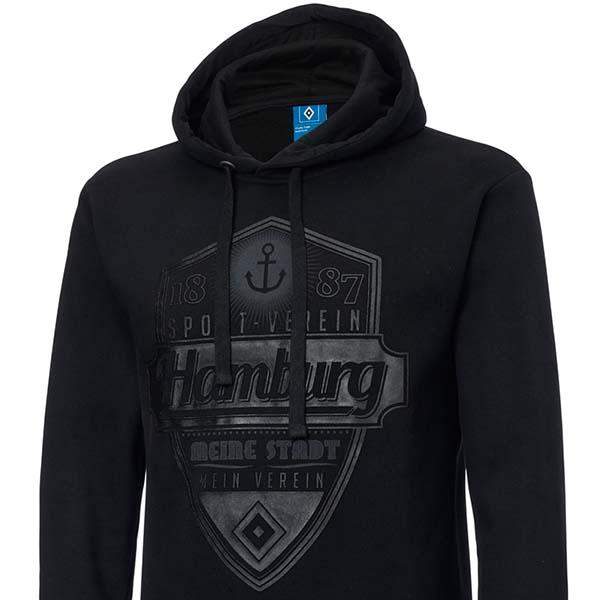 Größen zur Auswahl HSV Sweatjacke Fell Jacke Meine Stadt Mein Verein Kapuze