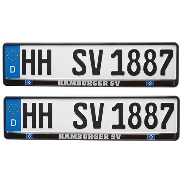 HSV Kennzeichenverstärker Hamburger SV 2er-Set