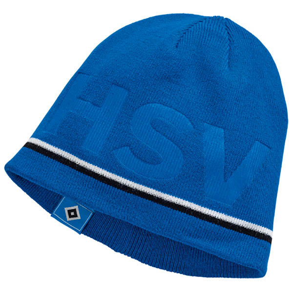 HSV Mütze Beanie Prägung HSV