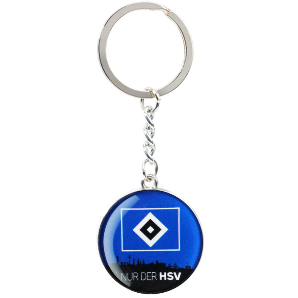 HSV Schlüsselanhänger Skyline