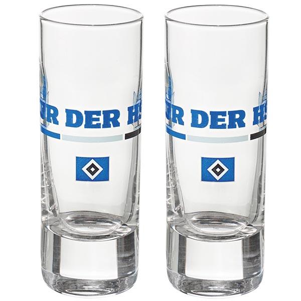 HSV Schnapsglas Nur der HSV 2er-Set