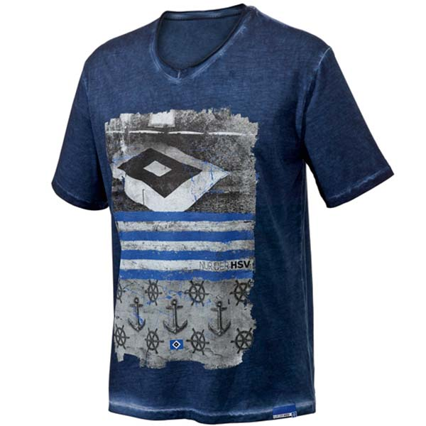 HSV T-Shirt Flagge
