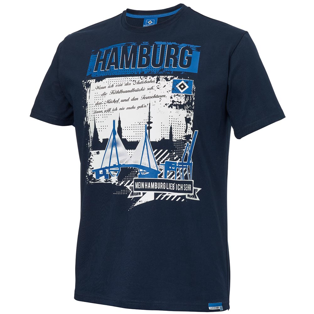 HSV T-Shirt Mein Hamburg