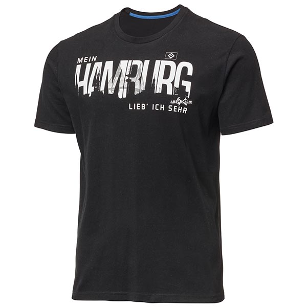 HSV T-Shirt Mein Hamburg - Abschlach! L