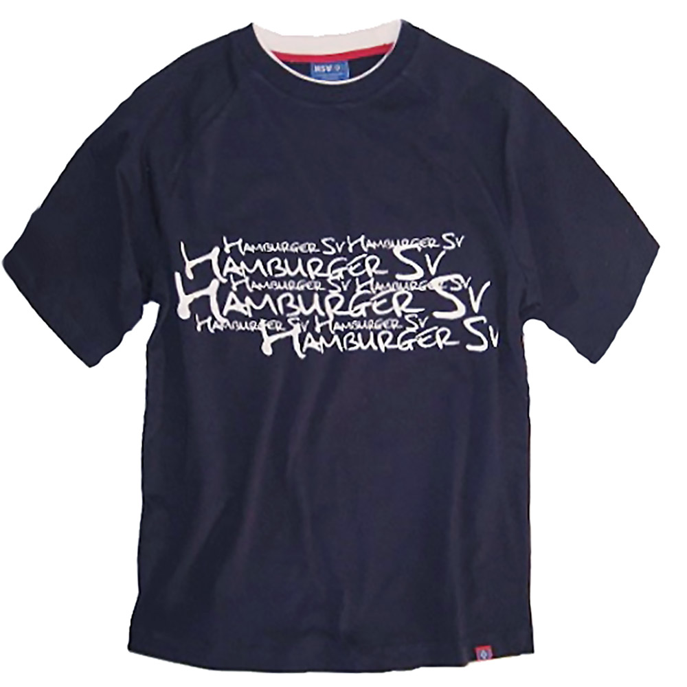 HSV T-Shirt HSV Schriftzüge M