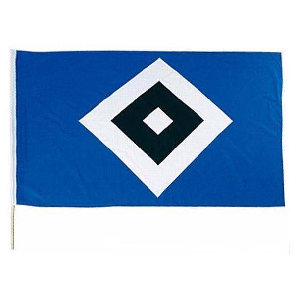 HSV Stockfahne HSV Logo 120 x 80 cm
