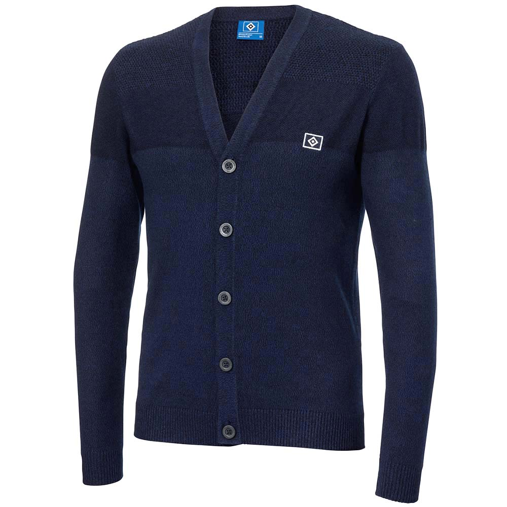 HSV Strickjacke blau