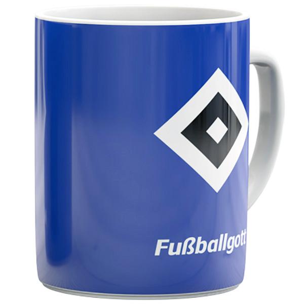 HSV Tasse Fussballgott