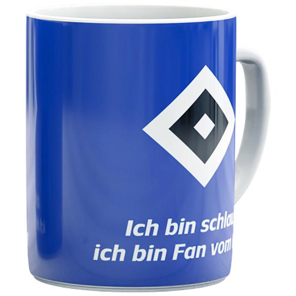 HSV Tasse Ich bin schlau ich bin Fan vom HSV