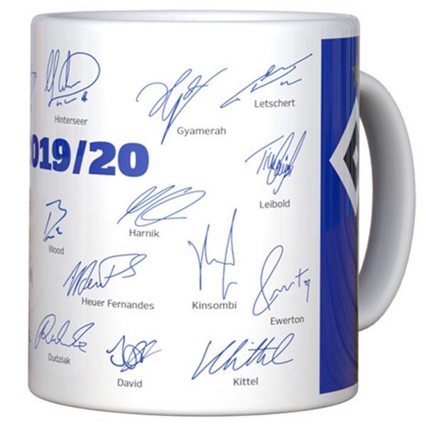 HSV Tasse Unterschriften 2019/2020