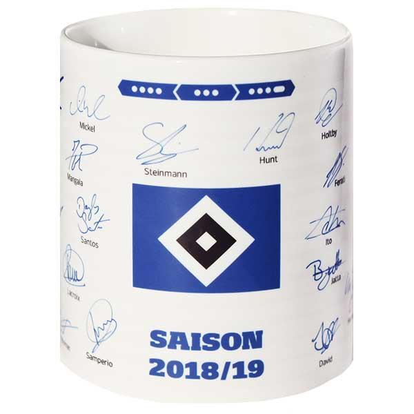 HSV Tasse Unterschriften 2018/2019