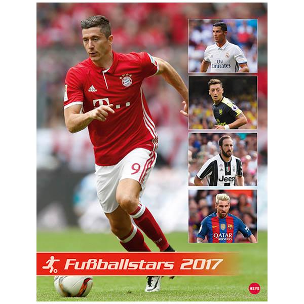 Fußballstars Posterkalender 2017