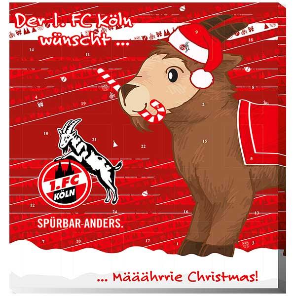1. FC Köln Adventskalender 2018 Exklusiv