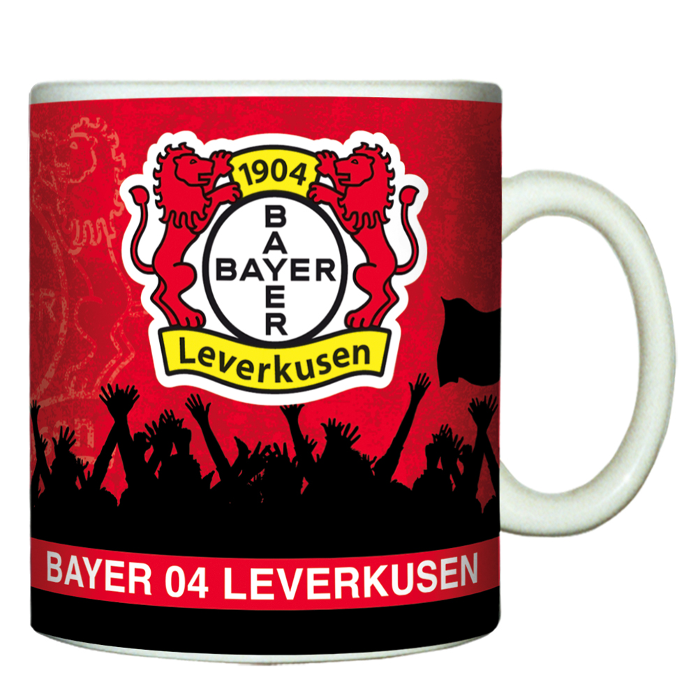 Bayer 04 Leverkusen Tasse Fan