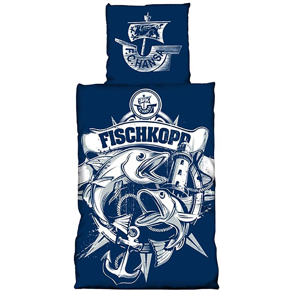 F C Hansa Rostock Bettwäsche Fischkopp