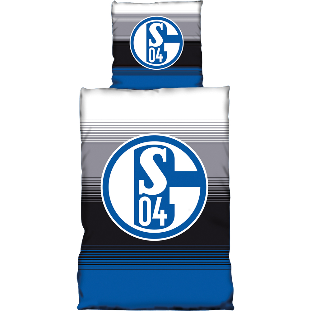 FC Schalke 04 Bettwäsche Farbverlauf
