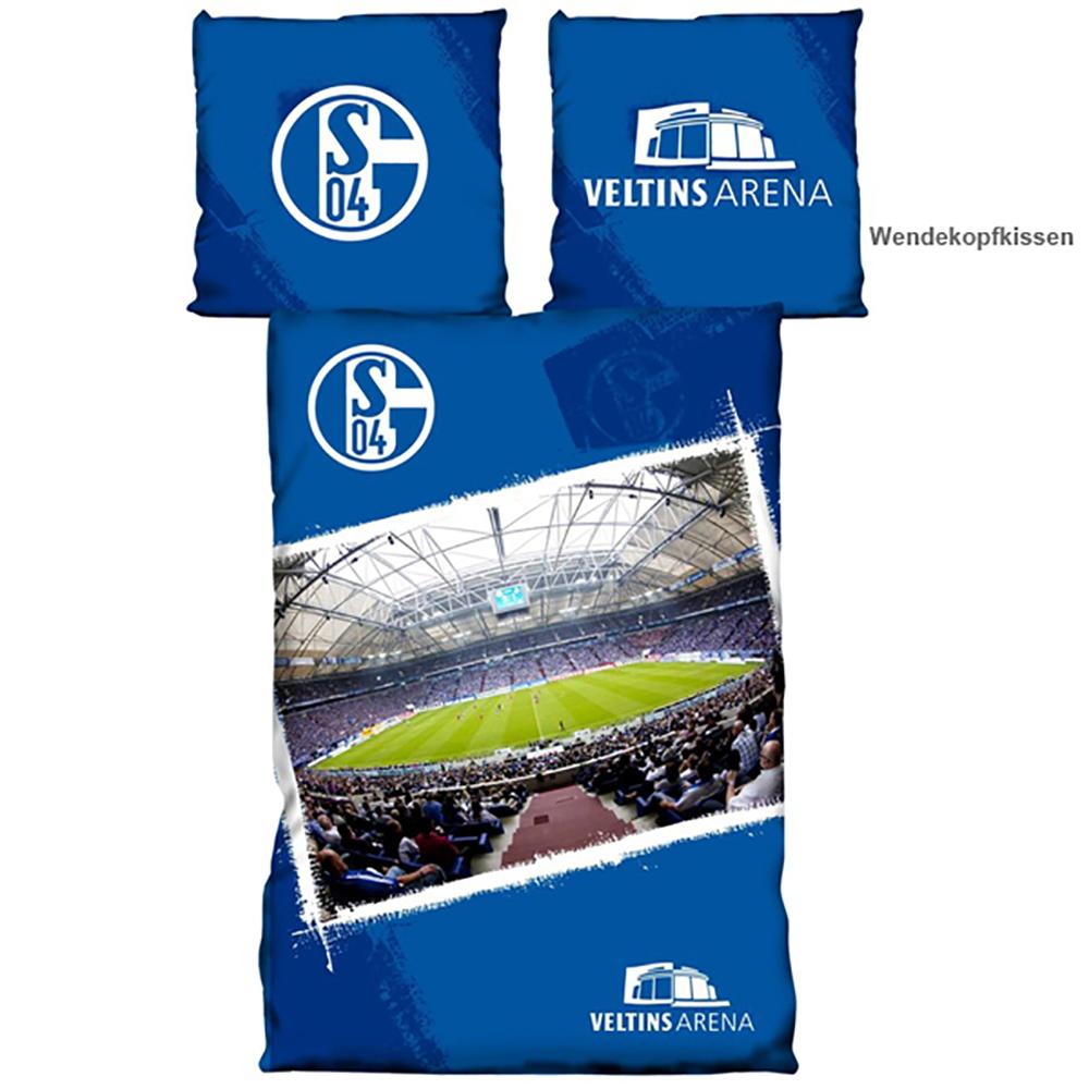 FC Schalke 04 Bettwäsche Veltins Arena