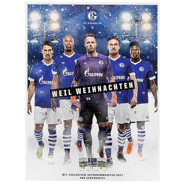 FC Schalke 04 Adventskalender Team 2018