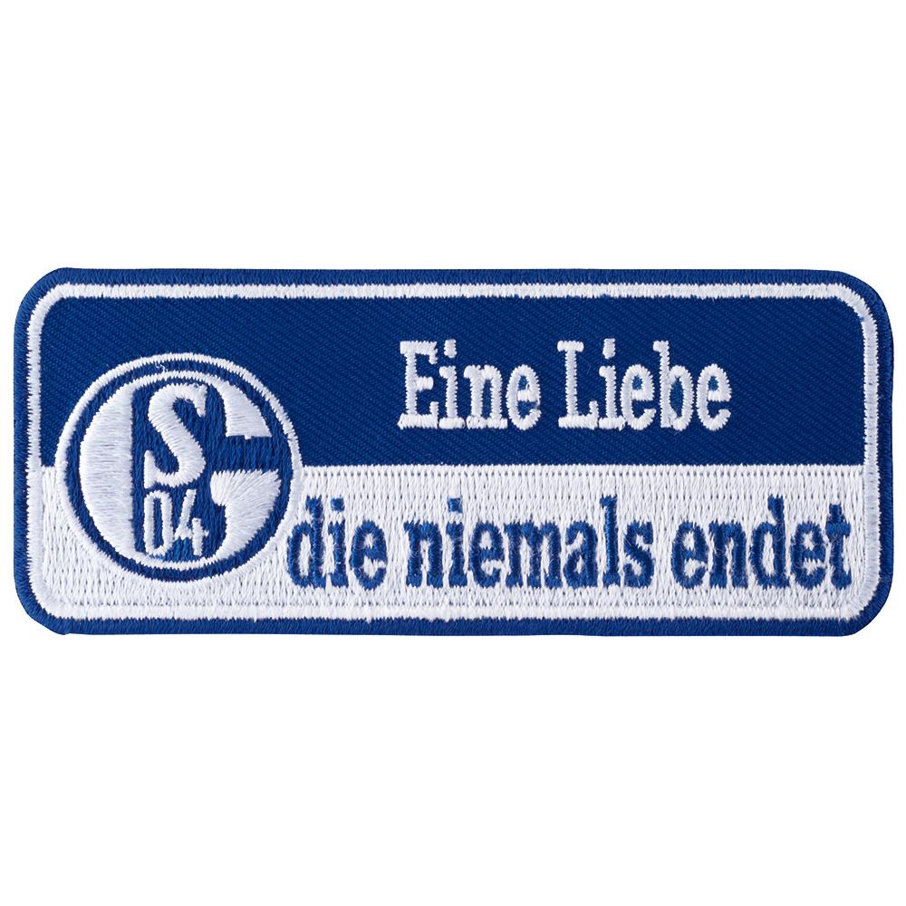 FC Schalke 04 Aufnäher Eine Liebe