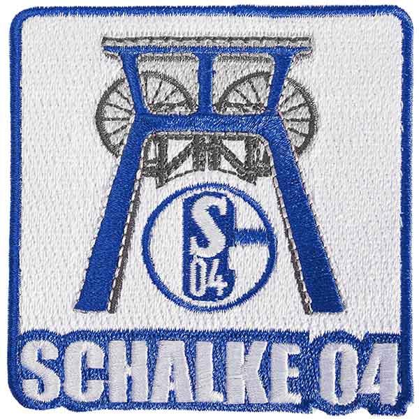 FC Schalke 04 Aufnäher Zeche