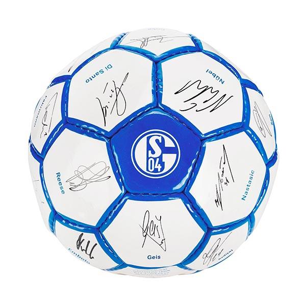 FC Schalke 04 Ball Unterschriften 2017/2018