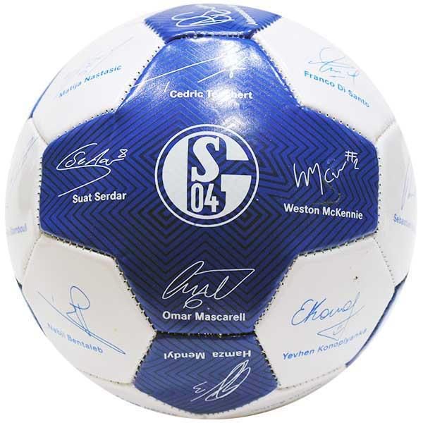 fc schalke 04 fussball unterschriften signature 20182019