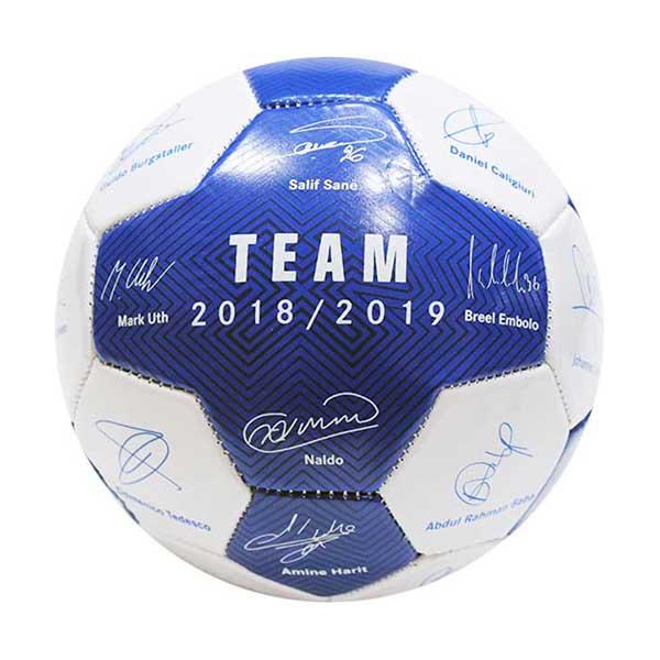 FC Schalke 04 Mini Ball Unterschriften 2018/2019