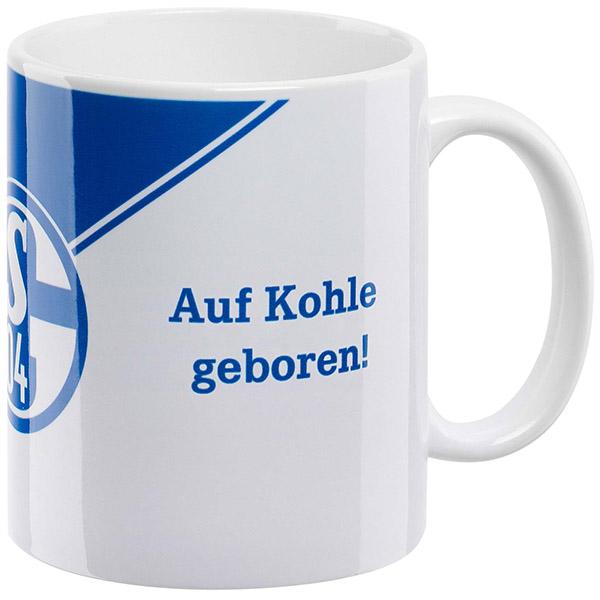 FC Schalke 04 Tasse Auf Kohle geboren!