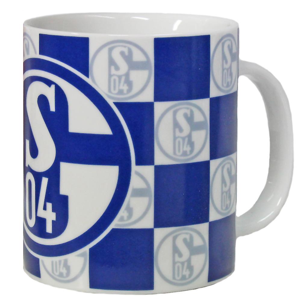 FC Schalke 04 Tasse Karo