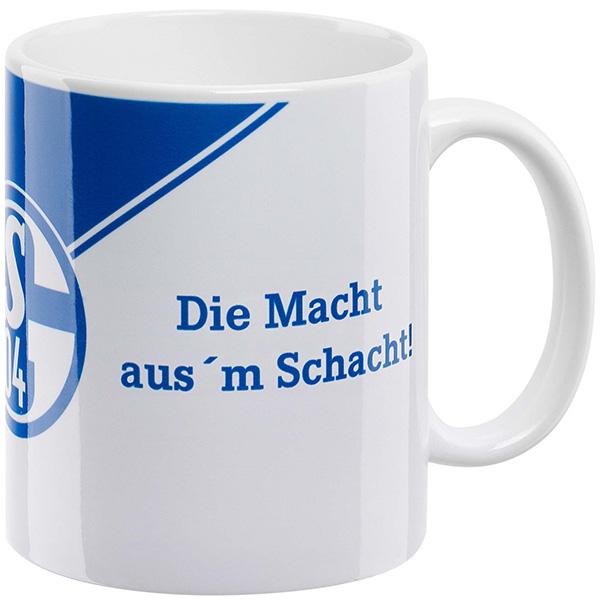 FC Schalke 04 Tasse Die Macht aus`m Schacht!