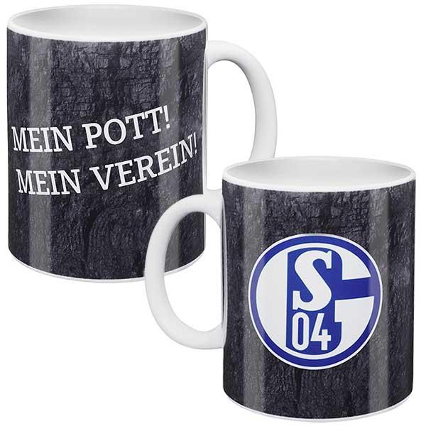 FC Schalke 04 Tasse Mein Pott! Mein Verein!