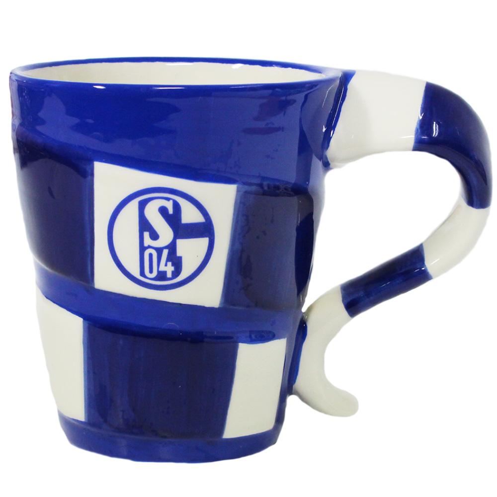 FC Schalke 04 Tasse Schal Design