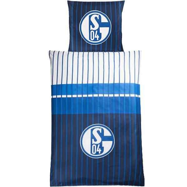 FC Schalke 04 Bettwäsche Marine