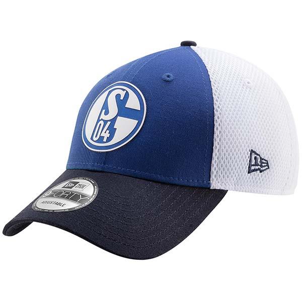 FC Schalke 04 Cap 9Forty Snap blau weiß